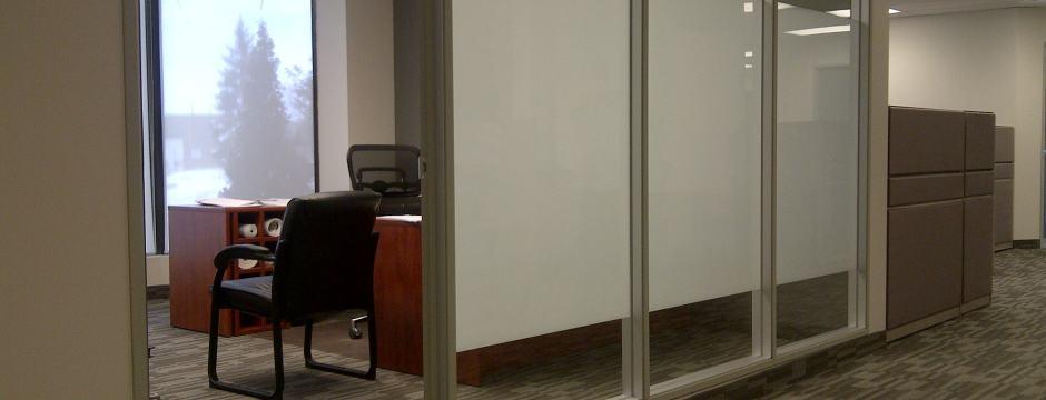 3m Film Office Glass Finish