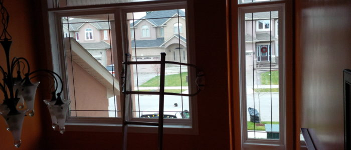 Before - Solyx Decorative Window Film - Clear Waters