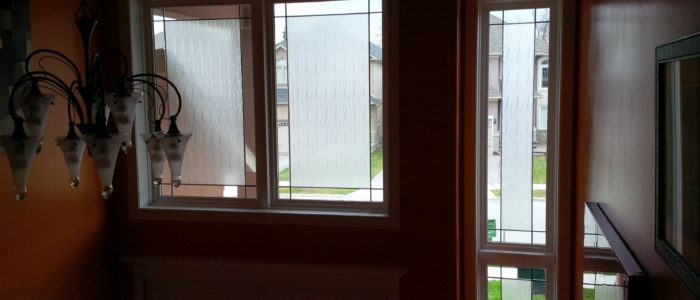 After - Decorative Window Film - Clear Waters